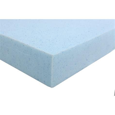 High Density Memory Foam Mattress Topper by Home Usa High Density Gel Memory Foam Mattress