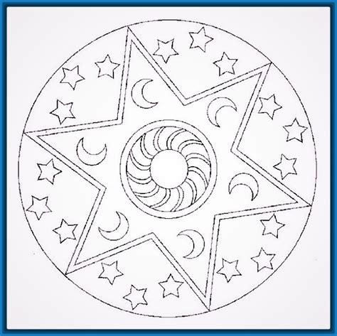 imagenes de mandalas para niños dibujos de mandalas para ni 241 os para pintar dibujos de