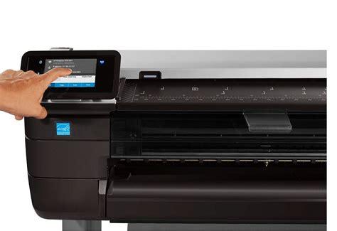 Printer Plotter Hp Designjet T795 Cr649c 44 Inch A0 Original hp designjet t830 touchscreen plotters nl