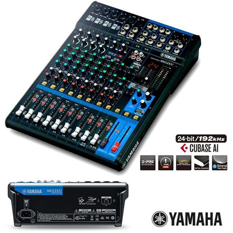 Audio Mixer Yamaha Mg 12 Xu yamaha mg 12 xu deck mixer tutku m 252 zik aletleri