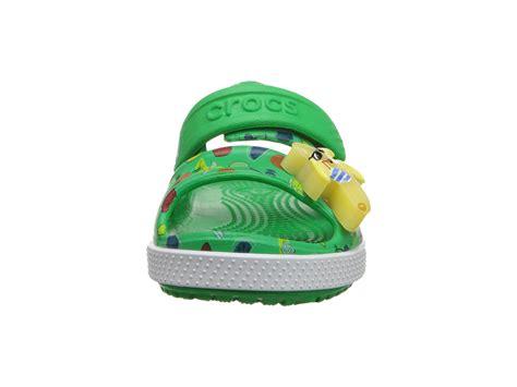 Crocs Led crocs crocband ii banana led sandal toddler kid grass green zappos free
