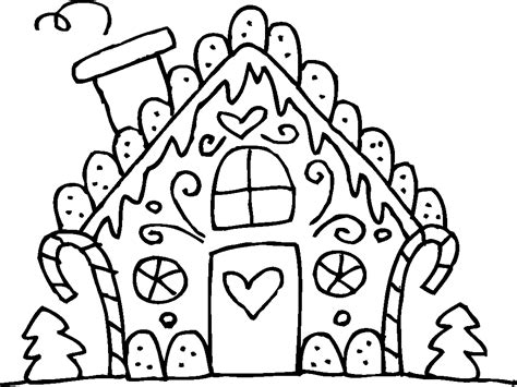 gingerbread house coloring page coloring pages gingerbread house