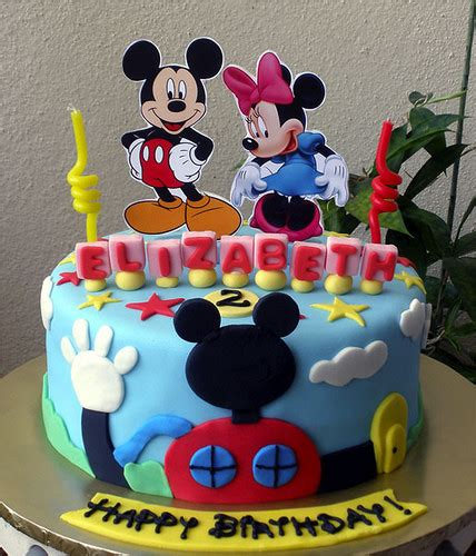 Mickey Mouse Cake Decorations great mickey mouse theme ideas to celebrate a