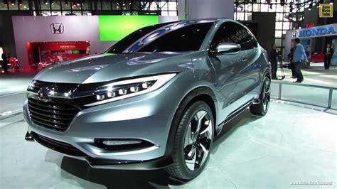 2015 Honda Suv by 2015 Honda Suv Concept Exterior Walkaround 2013