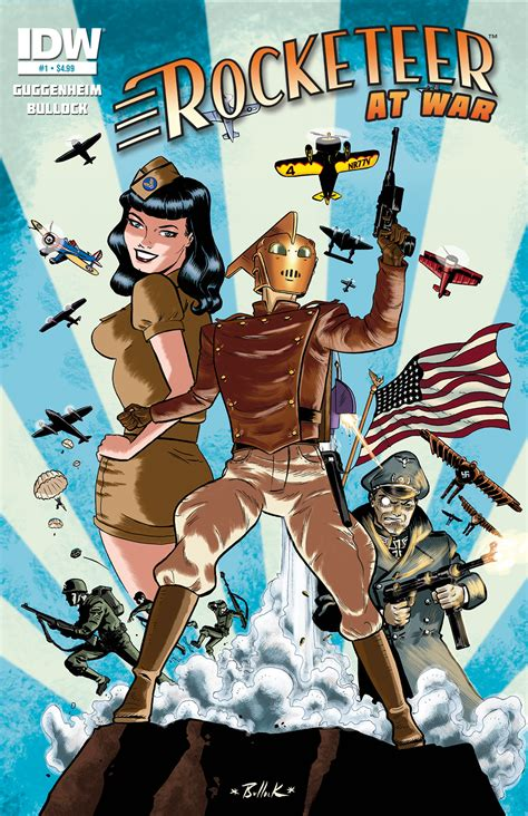 Top 10 Home Design Books the rocketeer at war 1 idw publishing