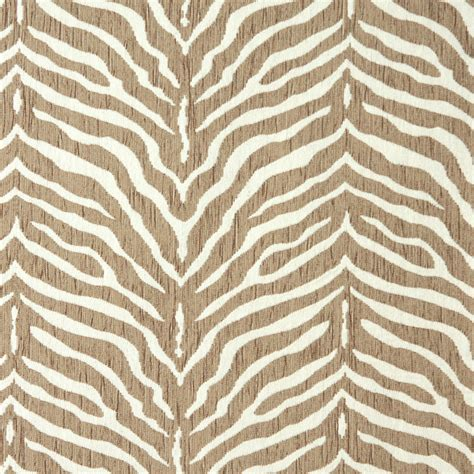 animal print chenille upholstery fabric zebra natural beige and white animal print chenille