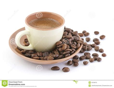 Coffee Bean Gift Card Free Drink - coffee drink and beans royalty free stock photo image 18156075