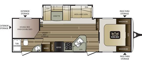 cougar trailers floor plans new 2017 keystone cougar 28rbs travel trailer for sale