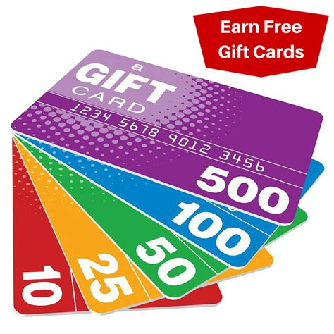 6 ways to earn free gift cards - Free Gift Cards 2015