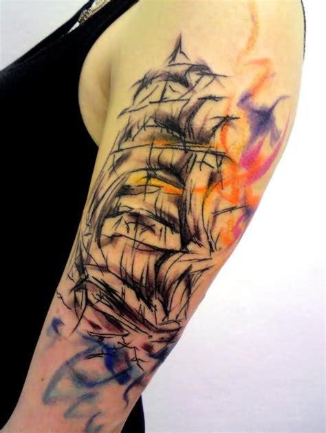 abstract tattoo sleeve designs 31 amazing abstract half sleeve tattoos