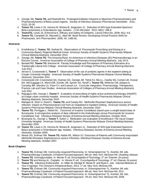 Best Pharmacist Resume by Best Pharmacist Resume Template Page 6