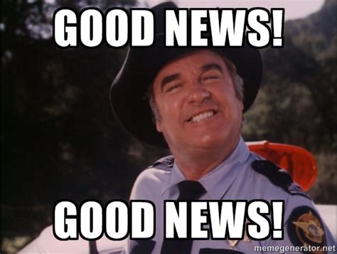 Good News Meme - pcdd important update new community manager