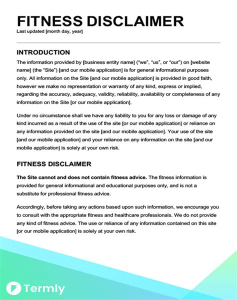 Website Disclaimer Template Bizorb Website Terms Of Use Template Sle Disclaimer Injury Free Disclaimer Template For Website