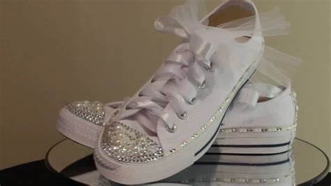 Turnschuhe Hochzeit wedding converse sneakers wedding sneakers bling