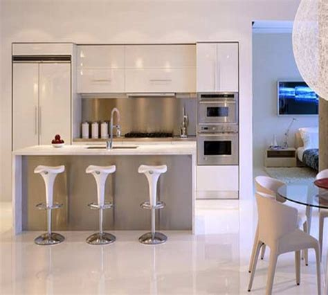 small modern kitchen interior design cocinas peque 241 as minimalistas