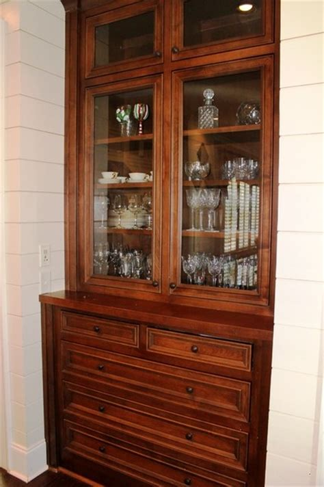 Built In China Cabinets by Built In China Cabinet
