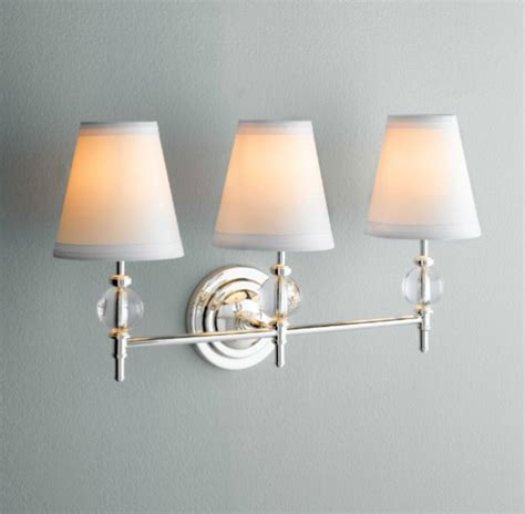 Restoration Hardware Vanity Lights Wilshire Sconce Traditional Bathroom Vanity Lighting By Restoration Hardware
