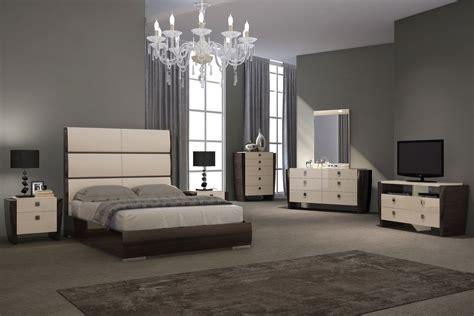 brooklyn bedroom set beige wenge modern bedroom