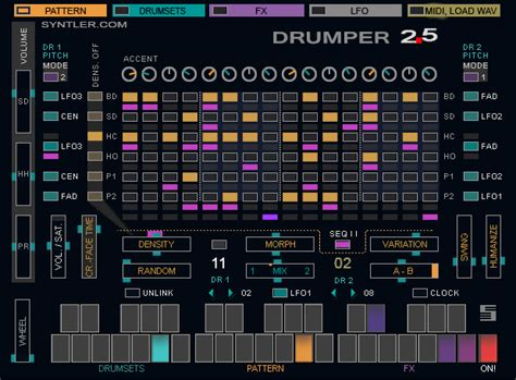 drum pattern plugin kvr drumper by syntler drum machine vst plugin
