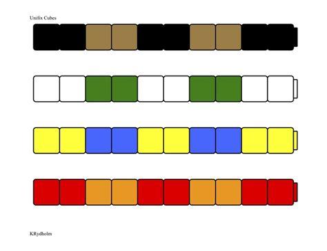 unifix pattern worksheet unifix patterns 2 math ideas pinterest
