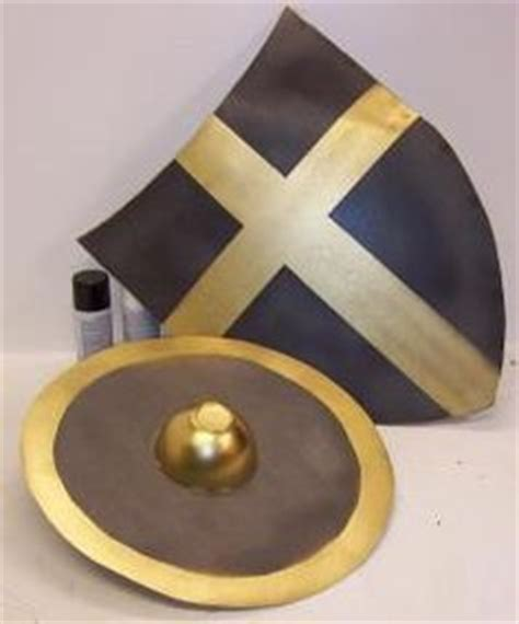 cardboard shield template decorate the shield diy template back shields with