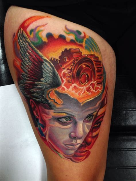 bipolar disorder tattoo timothy boor tattoos