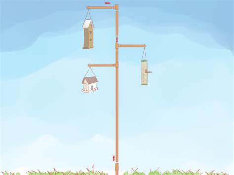 how to build a copper bird feeder pole 6 steps with