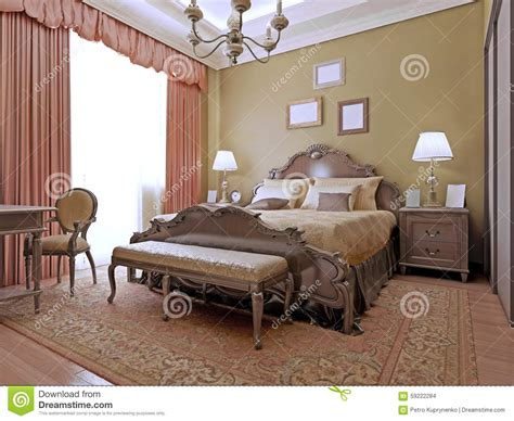 Bedroom Interior Materials Expensive Bedroom Deco Style Stock Photo Image 59222284