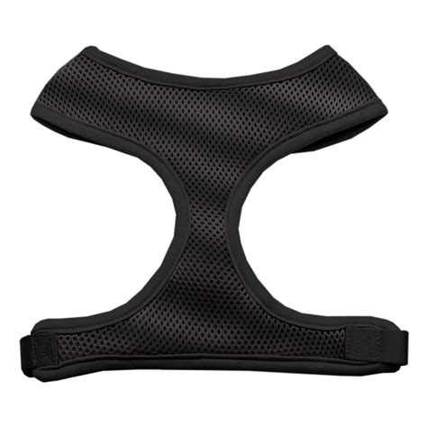 soft harness soft mesh harnesses black small