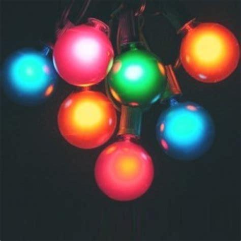 tropical string lights g50 globe light string set multicolored bulbs