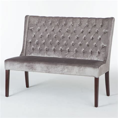 tufted banquette bench tufted dining bench bloggerluv com
