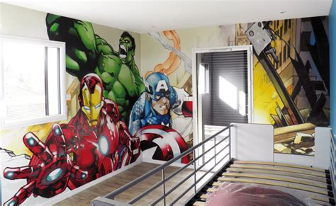 decoration chambre heros