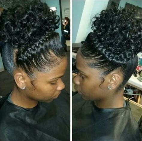 cute hairstyles puff cute braided hairstyles for black girls with high puff