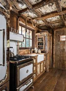 25 best rustic cabin kitchens ideas on rustic