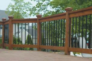 Patio Handrail by Composite Deck Pictures Of Composite Deck Railings