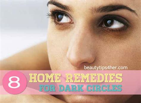 8 home remedies to get rid of those circles
