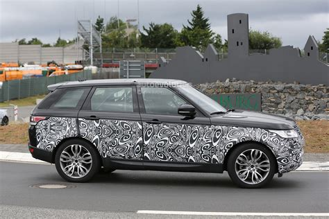 first range rover spyshots 2017 range rover sport first photos autoevolution
