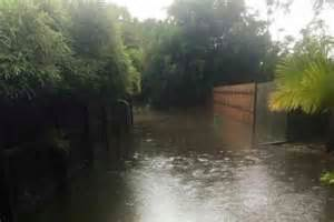 how to stop my backyard from flooding tropical cyclone marcia brisbane sunshine coast to
