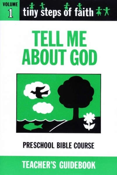 what my told me volume 1 books ts1t tiny steps of faith teacher s guidebook vol 1