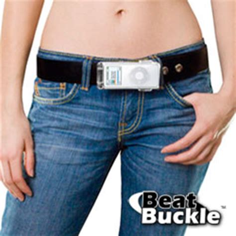 Ipod Nano Belt Buckle by A Belt Buckle For Your Ipod
