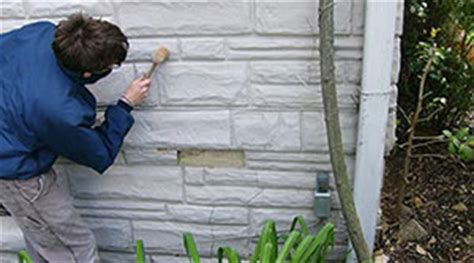 outside basement wall covering preservation brief 47 maintaining the exterior of small