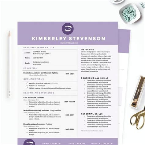 5 Letter Words Purple purple beautician resume cover letter references