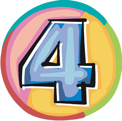 Number Four ragged glories the musical advent calendar door number four