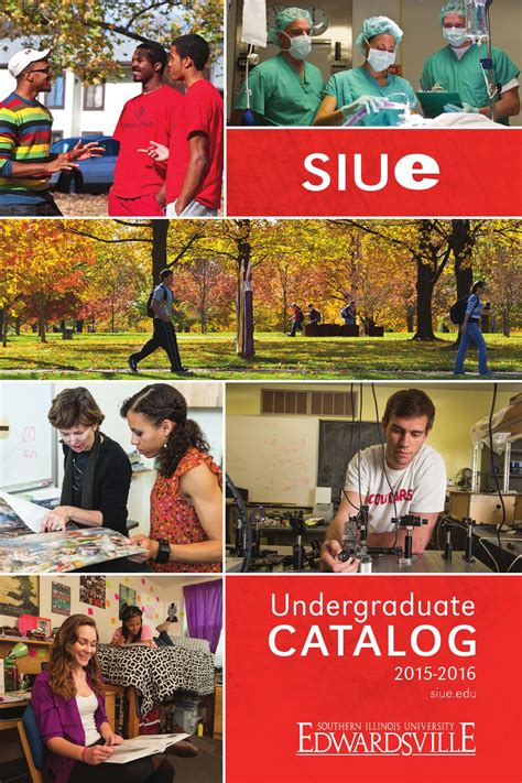 Siu Mba Requirements by 2015 2016 Siue Undergraduate Catalog By Siue Issuu