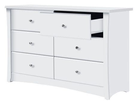 Storkcraft White Dresser by Storkcraft Crescent 6 Drawer White Dresser Walmart Ca