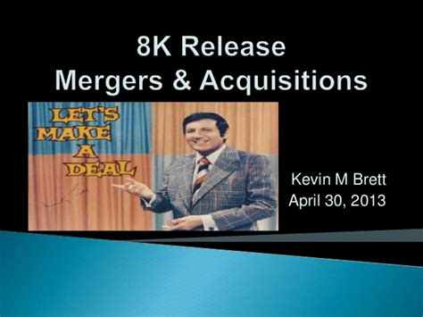 Merger And Acquisition Mba Ppt by Mergers And Acquisitions Ppt