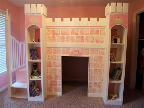 Castle Loft Bed by Stare If You Must Finished Castle Loft Bed