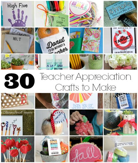 free crafts to make 30 crafts to make for appreciation week make and