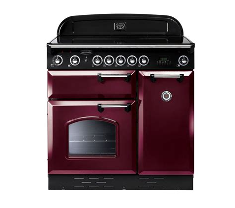 induction kitchen appliances buy rangemaster classic 90e electric induction range cooker cranberry chrome free delivery