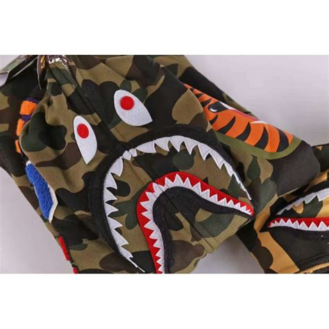 Ready Stock Totebag Bape Shark Camo a bathing ape bape wgm camo shark hoodie